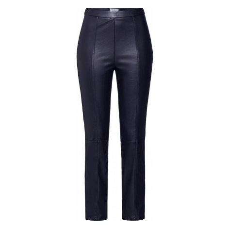 NA-KD Spodnie w kant czarny
