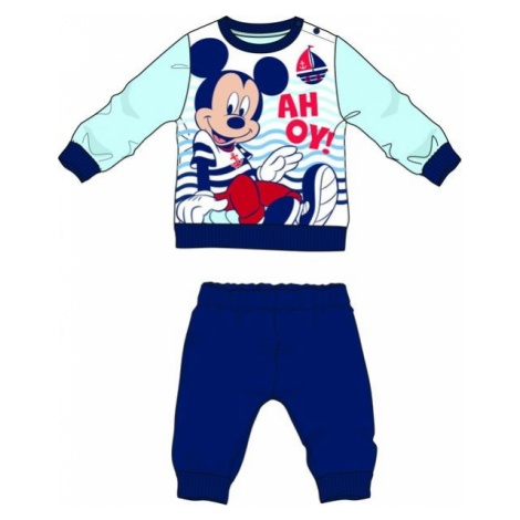 Disney by Arnetta piżama chłopięca Mickey Mouse niebieski