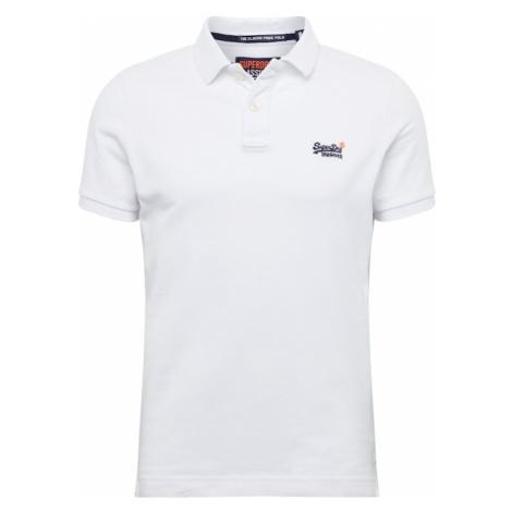 Superdry Koszulka 'CLASSIC PIQUE S/S POLO' biały