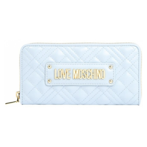 Love Moschino Portmonetka 'SLG-NEW SHINY QUILTED' jasnoszary