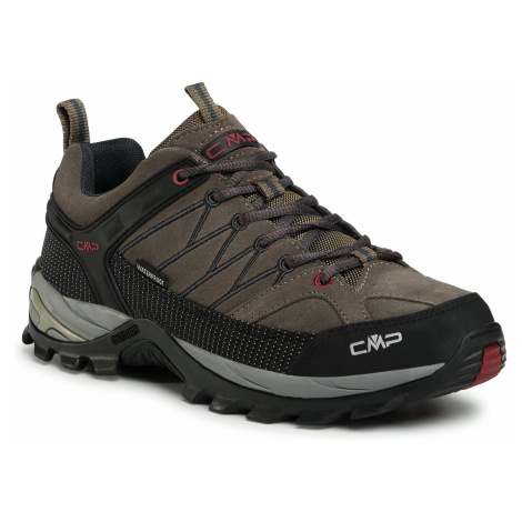 Trekkingi CMP - Rigel Low Trekking Shoes Wp 3Q13247 Torba/Antracite 02PD