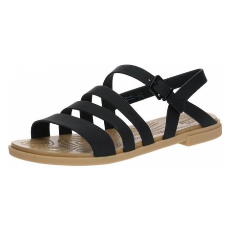 Crocs Sandały 'Tulum Sandal W' brązowy / czarny