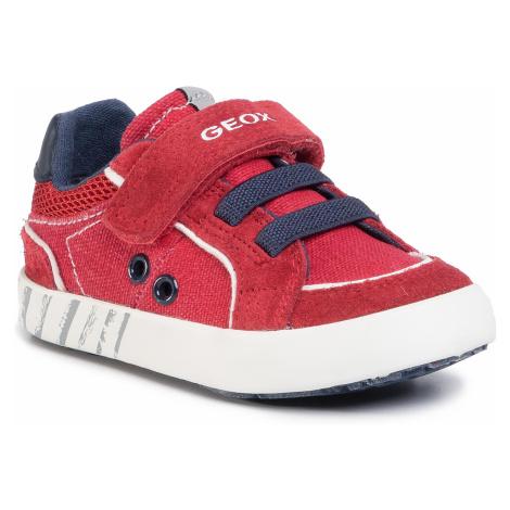 Sneakersy GEOX - B Kilwi B. B B02A7B 0NB22 C7MF4 M Dk Red/Navy
