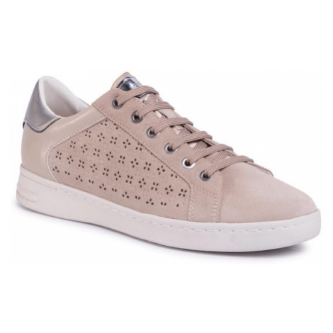 Geox Sneakersy D Jaysen A D021BA 022BC C6738 Beżowy