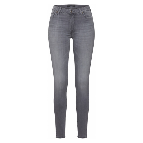 7 for all mankind Jeansy 'HW SKINNY SLIM ILLUSION LUXE BLISS' szary