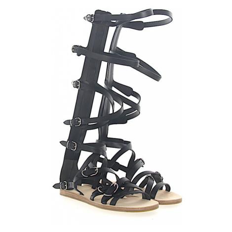 Balenciaga - Buty Sandały z cholewką