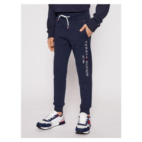 Tommy Hilfiger Spodnie dresowe Essential Sweatpants KB0KB05753 Granatowy Slim Fit