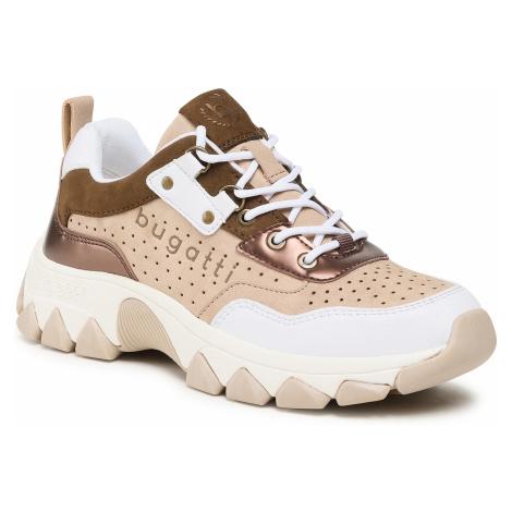 Sneakersy BUGATTI - 432-95202-5055-2052 White/Beige