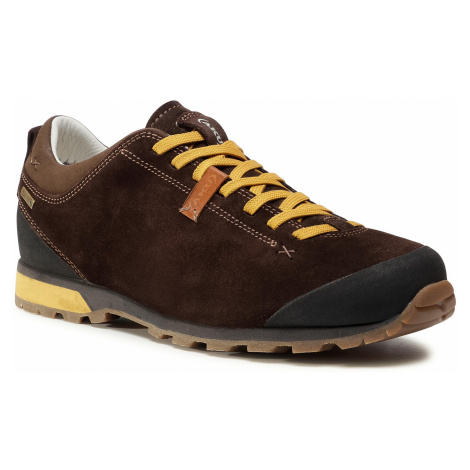 Trekkingi AKU - Bellamont 3 Suede Gt GORE-TEX 504.3 Dark Brown/Yellow