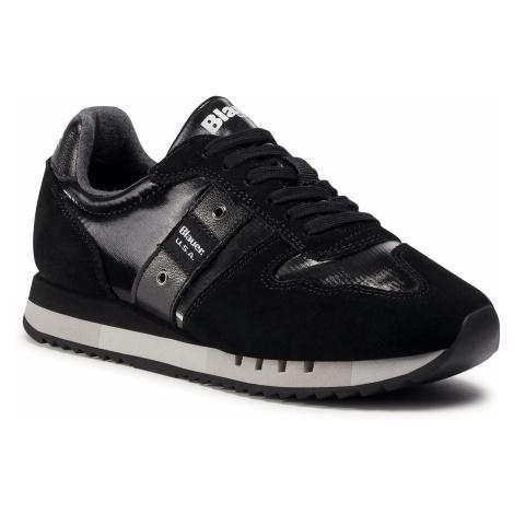 Sneakersy BLAUER - F0MELROSE01/NYL Black