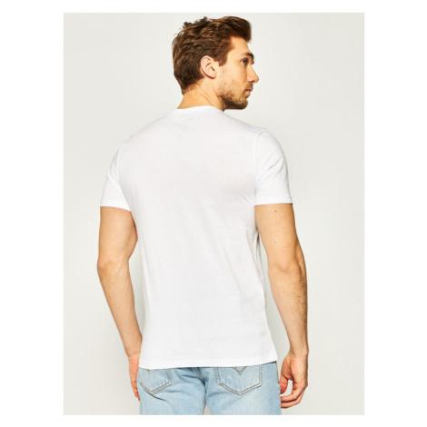 Blauer T-Shirt Soft 20SBLUH02158 004547 Biały Regular Fit
