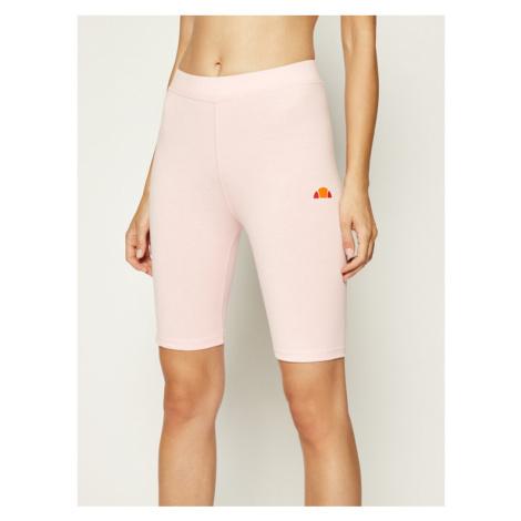 Ellesse Legginsy Tour Cycle SGC07616 Różowy Slim Fit