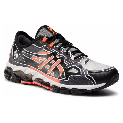 Sneakersy ASICS - Gel-Quantum 360 6 1021A492 Black/Sunrise Red 001