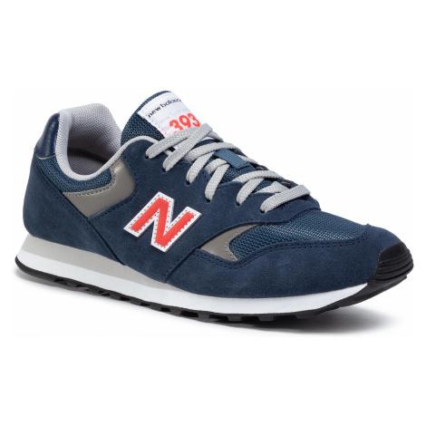 Sneakersy NEW BALANCE - ML393SS1 Granatowy