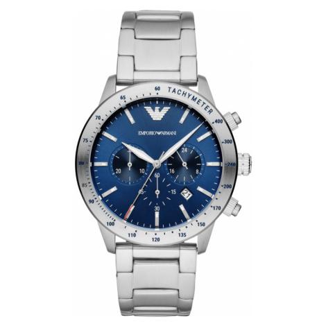 Zegarek EMPORIO ARMANI - Mario Chrono AR11306 Silver
