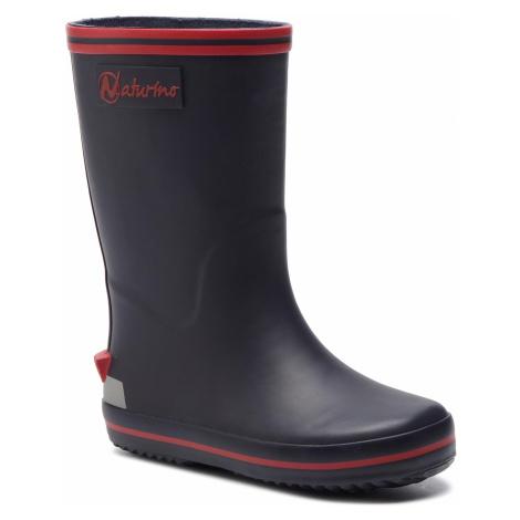 Kalosze NATURINO - Rain Boot 0013501128.01.9104 Bleu-Rosso