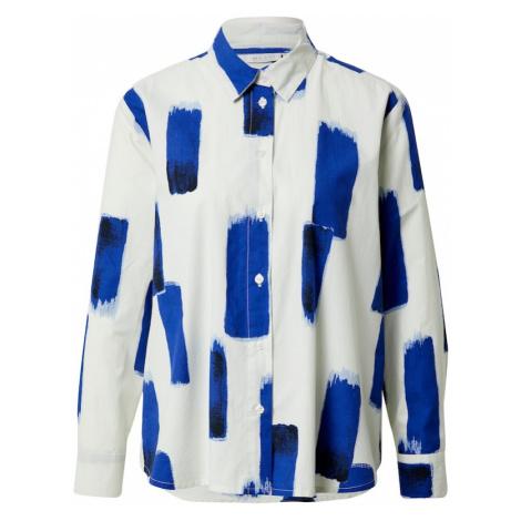 Masai Bluzka 'Imma' biały / niebieski
