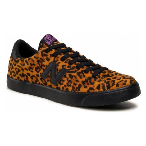 New Balance Sneakersy AM210LEP Brązowy
