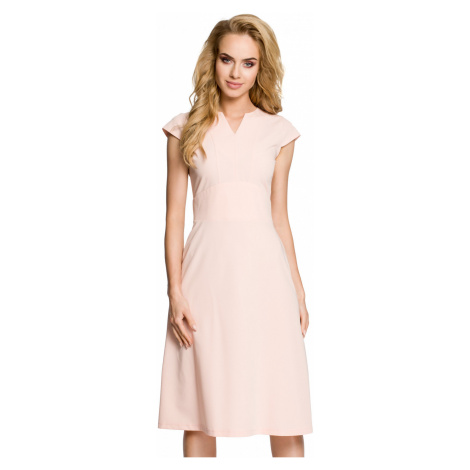 Made Of Emotion Woman's Dress M312 Powder