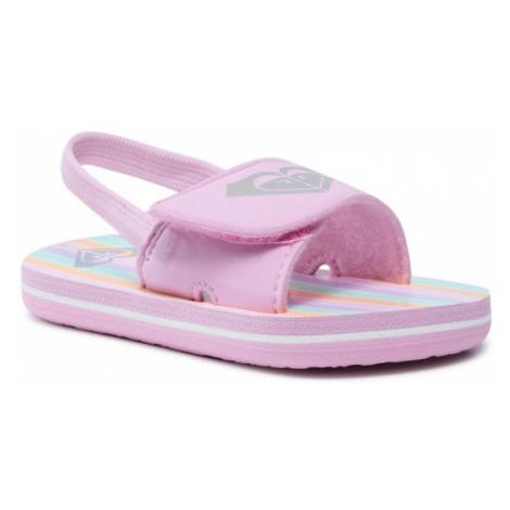 Roxy Sandały AROL100012 Różowy