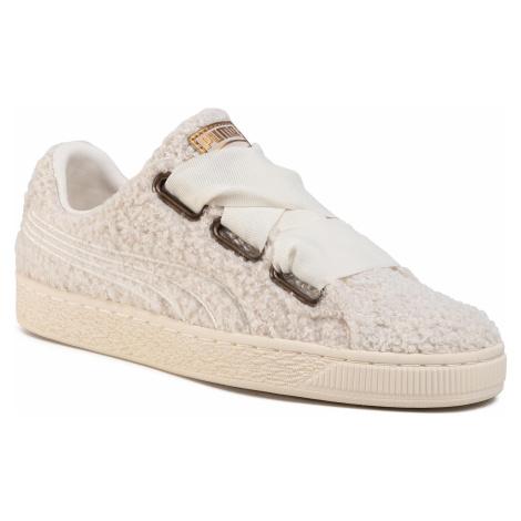 Sneakersy PUMA - Basket Heart Teddy Wn's 367030 01 Whisper White/Whisper White