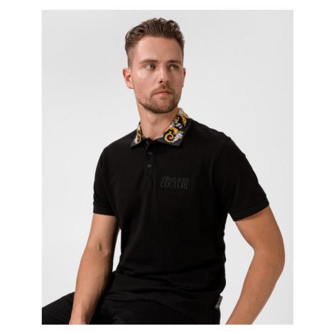 Versace Jeans Couture Polo Koszulka Czarny