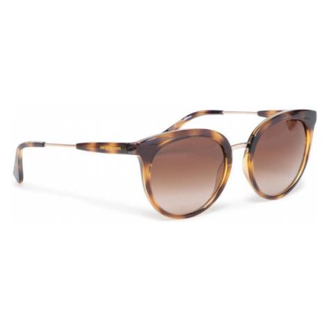 Emporio Armani Okulary przeciwsłoneczne 0EA4145 508913 Brązowy