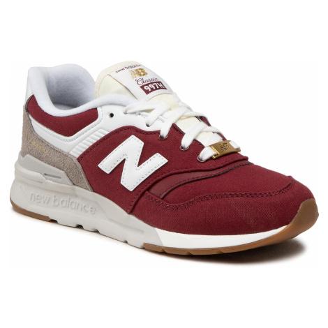 Sneakersy NEW BALANCE - GR997HHT Bordowy