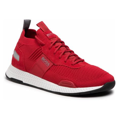Sneakersy BOSS - Titanium 50452034 10232616 01 Medium Red 610 Hugo Boss