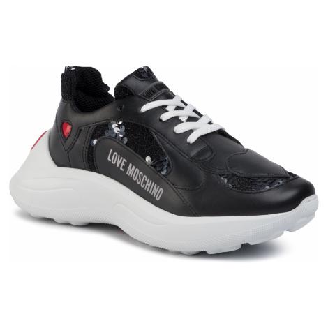 Sneakersy LOVE MOSCHINO - JA15296G1AIM100A Vit