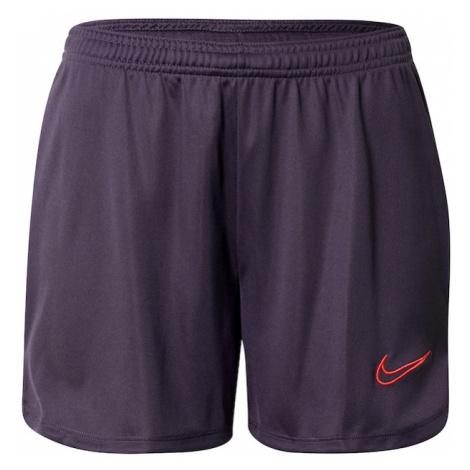 NIKE Spodnie sportowe fioletowy