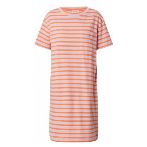 GAP Letnia sukienka różowy pudrowy / pomarańczowy