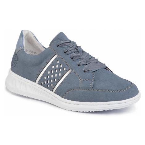Sneakersy RIEKER - N3124-14 Blau