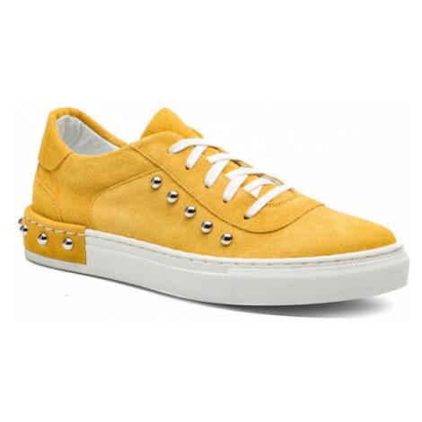 Eva Minge Sneakersy EM-10-05-000092 Żółty