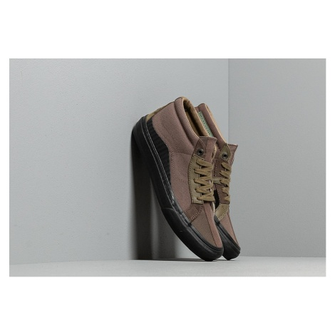 Vans x Taka Hayashi 138 Mid LX (Suede/ Canvas/ Leather) Mid Brown