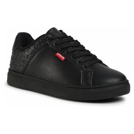 Sneakersy LEVI'S® - 232327-795-59 Regular Black Levi´s