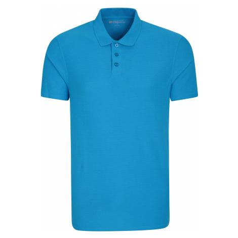 Strad - męskie polo - Blue