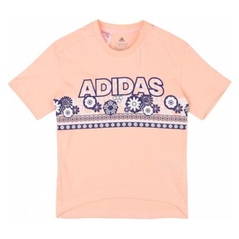 ADIDAS PERFORMANCE Koszulka funkcyjna różowy pudrowy / niebieski