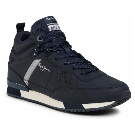 Sneakersy PEPE JEANS - Tinker Boot Basic PMS30662 Navy 595