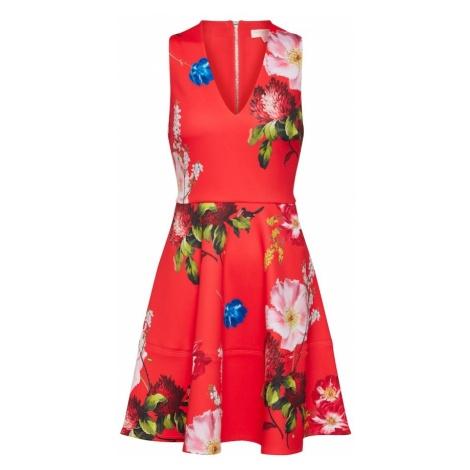 Ted Baker Sukienka 'Kinle' mieszane kolory / czerwony