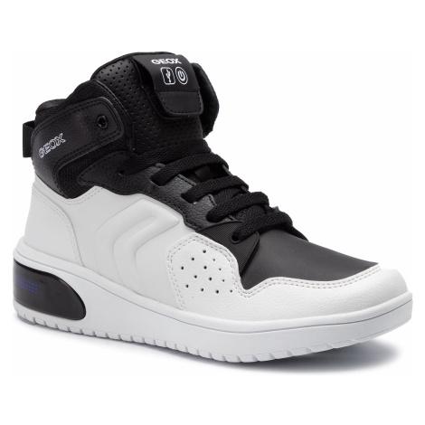 Sneakersy GEOX - J Xled B. A J947QA 0BCBU C0404 D White/Black