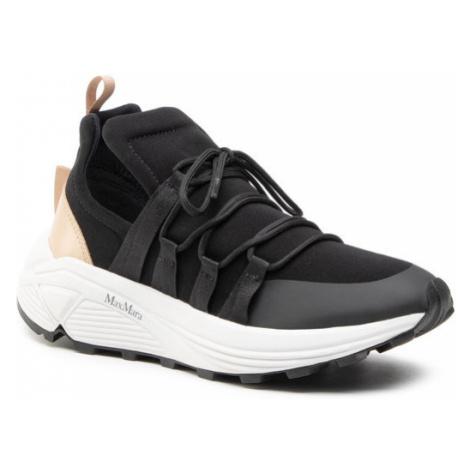 Max Mara Sneakersy Raissa 476113166 Czarny
