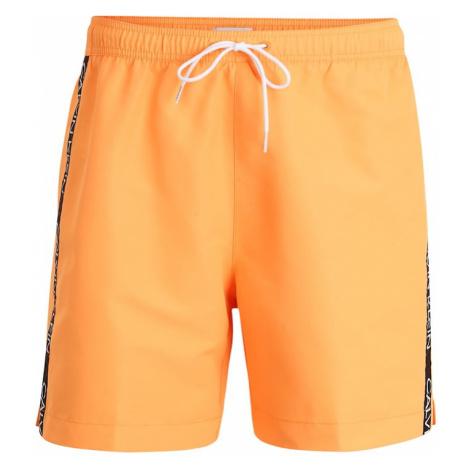 Calvin Klein Swimwear Kąpielówki pomarańczowy