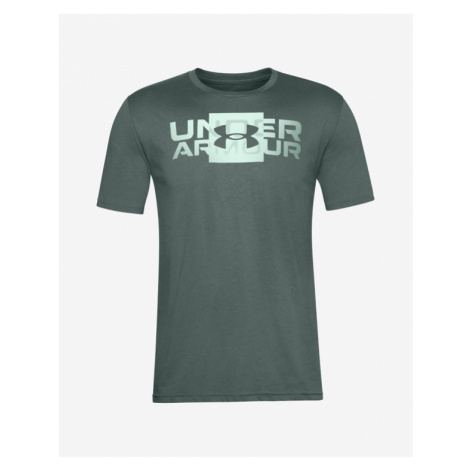 Under Armour Box Logo Wordmark Koszulka Zielony