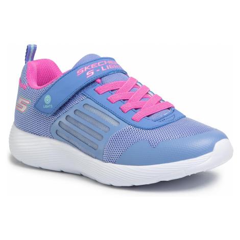 Sneakersy SKECHERS - Dyna-Lights 20268L/BLNP Blue/Neon Pink