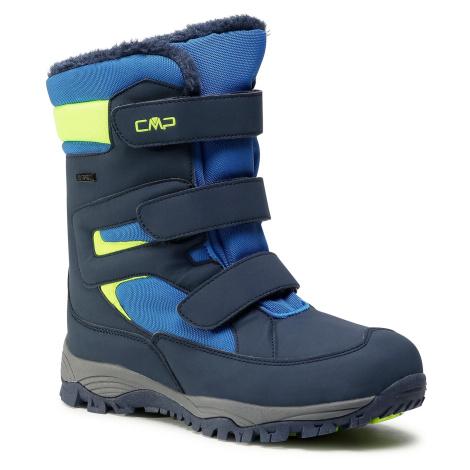 Śniegowce CMP - Kids Hexis Snow Boot Wp 30Q4634 Black Blue N950