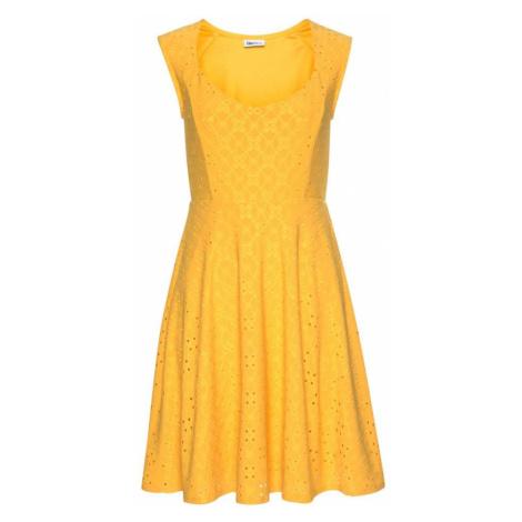 BEACH TIME Letnia sukienka żółty Beachtime