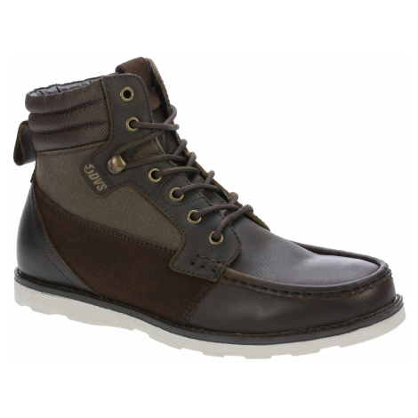 buty DVS Bishop - Brown Leather Cordura