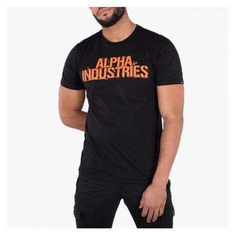 Koszulka męska Alpha Industries Blurred 186506 03