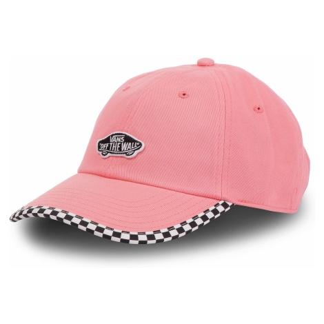 Czapka z daszkiem VANS - Check It Hat VN0A3UQDUV71 Strawberry Pink